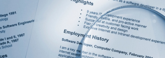 Which is why many employers value a person's employment history more than their A/L scores.